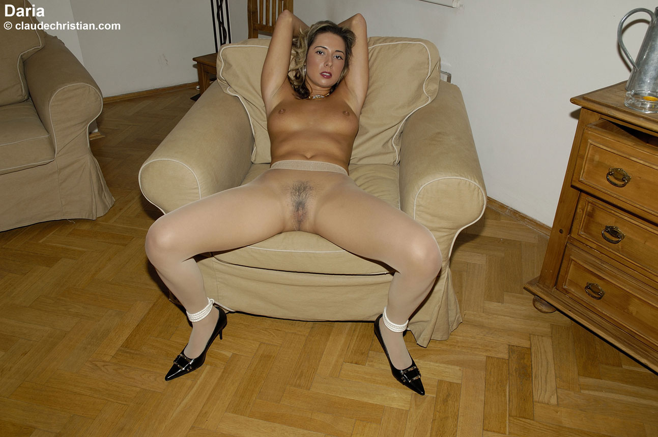 bound in pantyhose